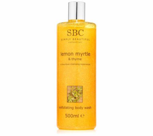 SBC Zitrus Myrte & Thymian Duschpeeling 500ml