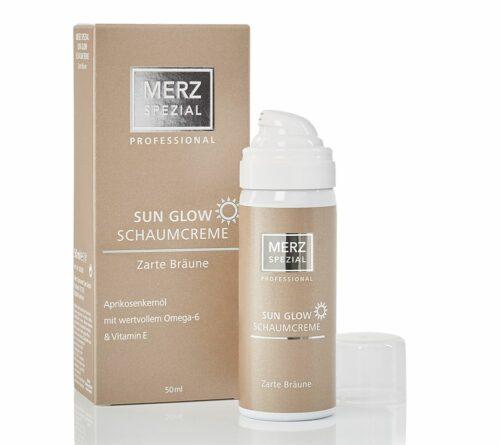 MERZ SPEZIAL Professional Sun Glow Schaumcreme 50ml