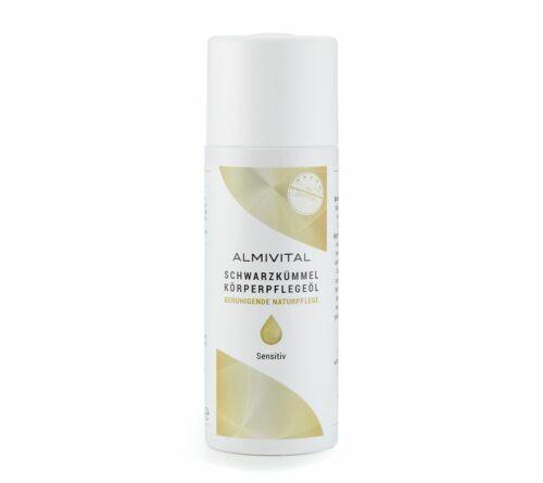 ALMIVITAL Schwarzkümmel- körperpflegeöl für sensible Haut kalt gepresst, 200ml