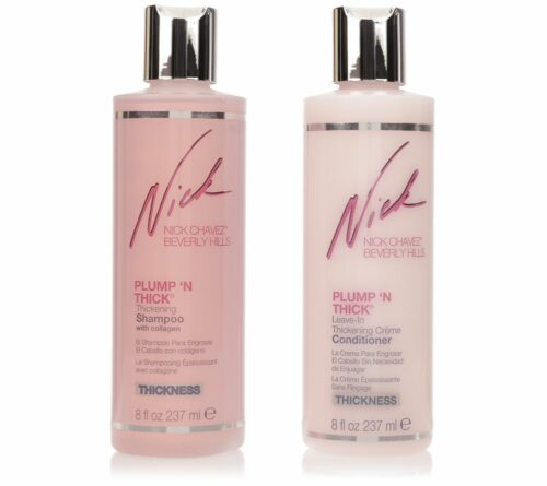 NICK CHAVEZ Volumen Shampoo & Conditioner-Duo mit Collagen für dickeres Haar