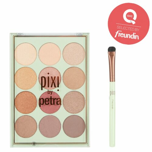 PIXI BEAUTY Eye Reflections Shadow Lidschatten- palette mit Pinsel 2tlg.