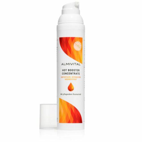 ALMIVITAL Hot Booster Concentrate 100ml stark wärmend mit pflegendem Rosmarinöl