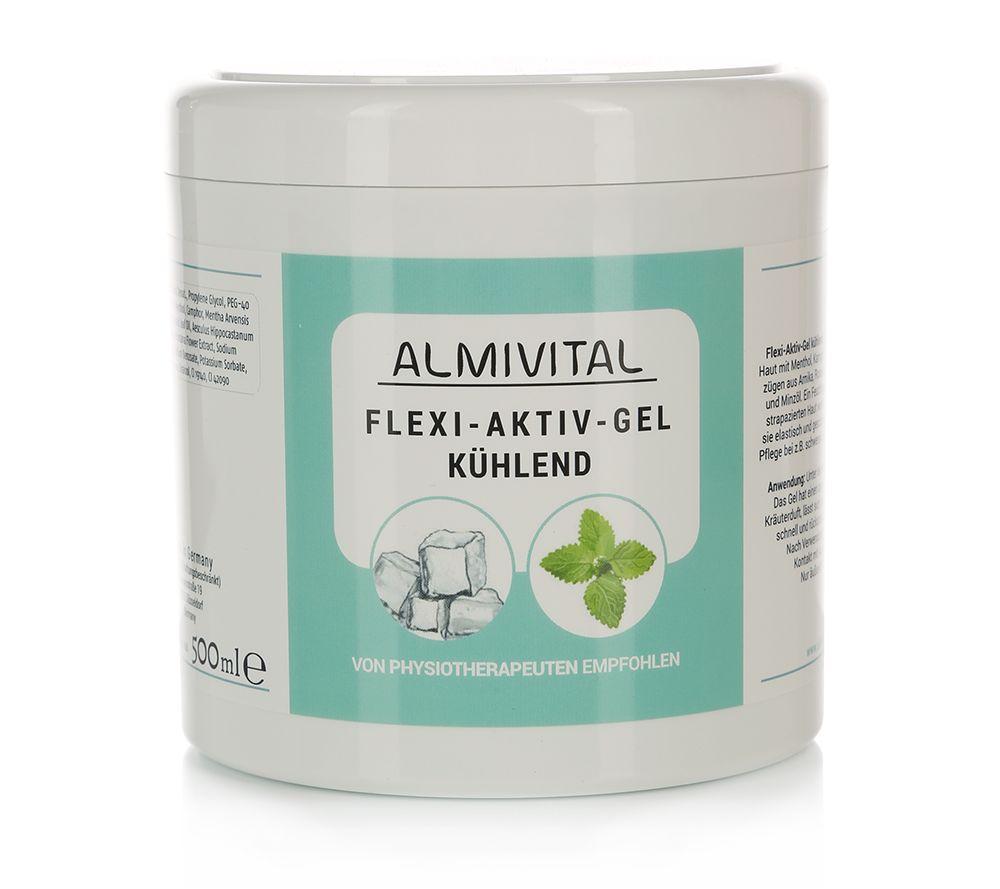 ALMIVITAL Flexi-Aktiv Gel kühlend mit Menthol 500ml