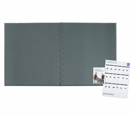 FLEXI-SPORTS Doppelbodenelement für Rücken, Knie & die Figur inkl. DVD