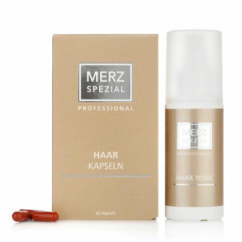 MERZ SPEZIAL Professional Haar-Kapseln 60 Stück & Haar-Tonic 100ml