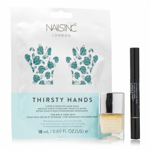 NAILS INC Maniküre-Set mit Collagen Ridge Filler 14ml, 3tlg.