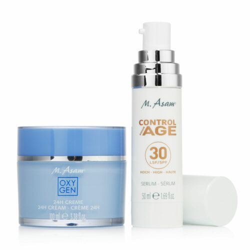 M.ASAM® Oxygen 24h-Creme 100ml & Control Your Age SPF Serum 50ml