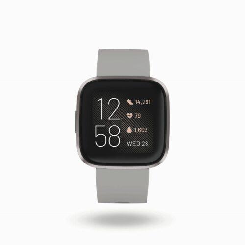 FITBIT Versa 2 Fitness- und Gesundheits- Smartwatch inkl. Ladestation Versa 2