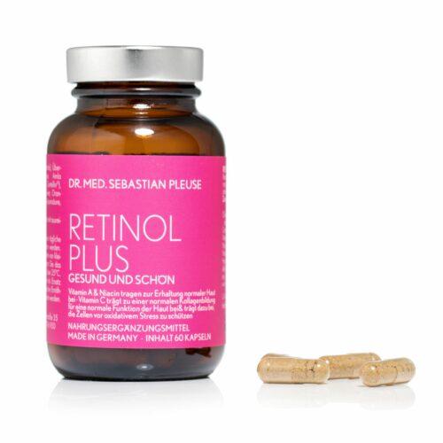 Dr. med. Sebastian Pleuse Retinol Plus 60 Kapseln 30 Tage
