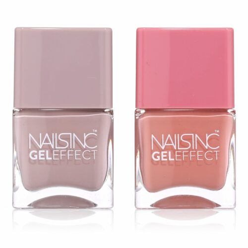 NAILS INC Gel Effect Uptown & Porchester Square 2x 14ml