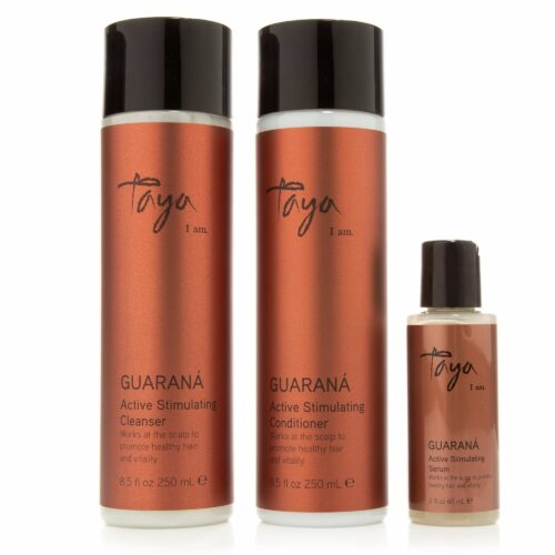 TAYA HAIRCARE Guarana Shampoo 250ml, Conditioner 250ml & Tonic 60ml