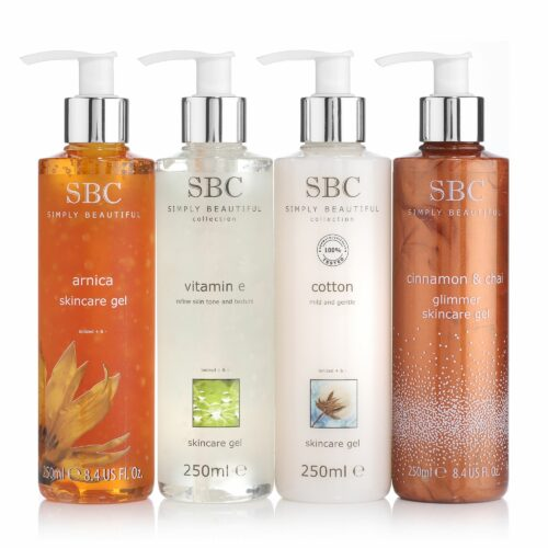 SBC Skincare Gel Winter Collection 4x 250ml