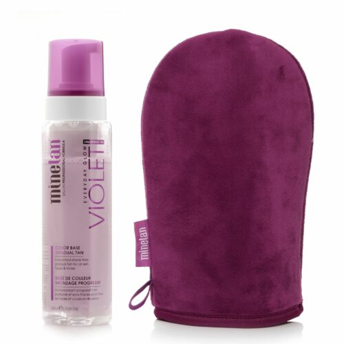 MINETAN Violet Everyday Glow Gradual Tan Foam mit Applikator, 200ml