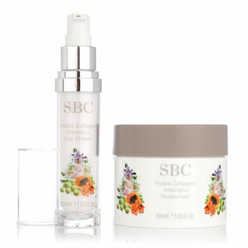 SBC Hydra Collagen Gesichtspflege 90ml & Augencreme 30ml