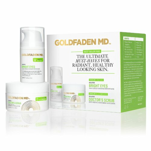 GOLDFADEN MD Doctors Scrub Exfoliator 50ml & Bright Eyes 15ml