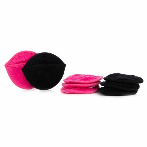 BADIZIO Beauty Super-Flausch Gesichtsreinigungs- handschuhe, sortiert, 8tlg.