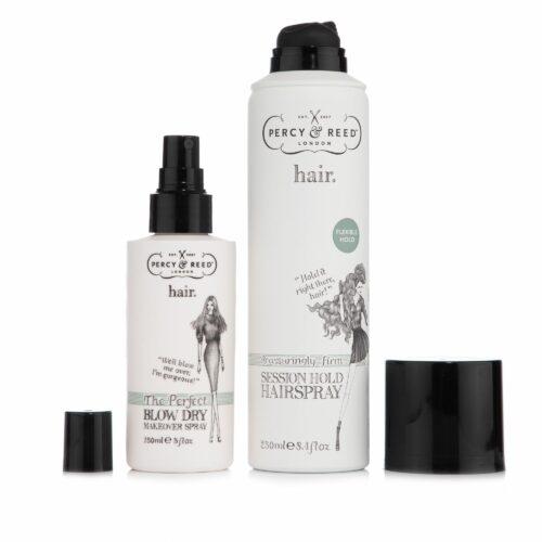 PERCY & REED Haarspray für starken Halt 250ml & Föhnspray 150ml
