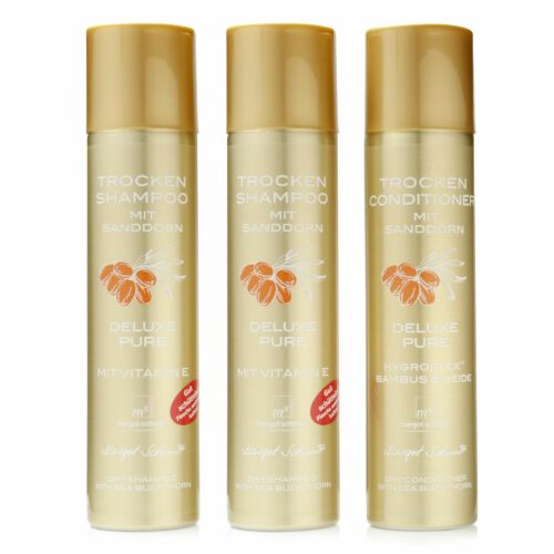 MARGOT SCHMITT® Trockenshampoo-Duo & Trockenconditioner Deluxe Pure 3x 300ml