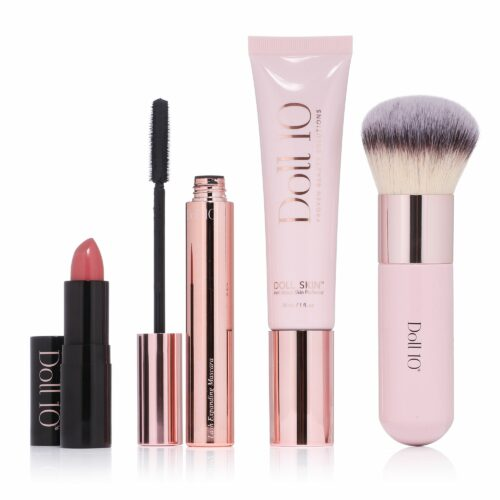 DOLL 10 BEAUTY Dollskin Make-up Set mit Anti-Stress Perfector Foundation 30ml, 4tlg.