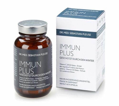 Dr. med. Sebastian Pleuse Immun plus mit Selen 60 Kapseln