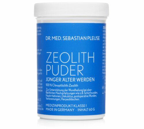 Dr. med. Sebastian Pleuse Zeolith Puder Medizinprodukt äußere Anwendung, 60g