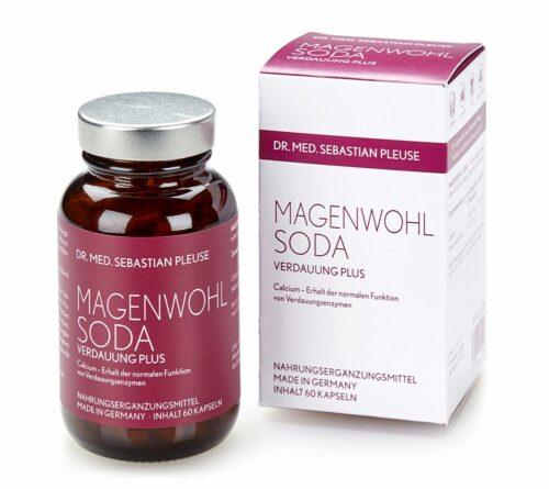 Dr. med. Sebastian Pleuse Magenwohl Soda mit Calcium 60 Kapseln