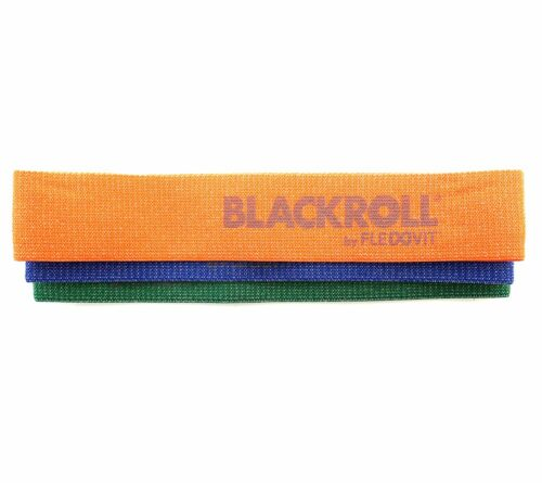 BLACKROLL® Loop Bands ca. 32cm mit 3 Widerständen für das Training