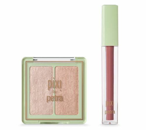 PIXI BEAUTY GLOW Set 2tlg. Lip Lift Max Lipgloss & Highlighterpuder