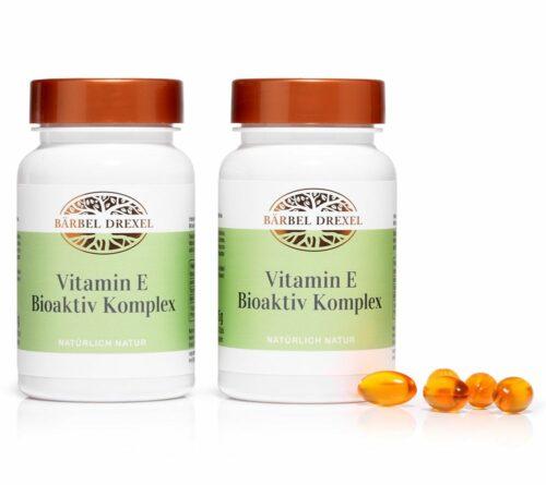 BÄRBEL DREXEL Vitamin E Bioaktiv Komplex 2x 70 Kapseln für 140 Tage