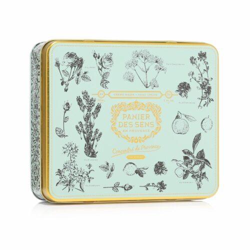 PANIER DES SENS Handcreme Geschenkbox Lavendel, Rose & Provence je 30ml