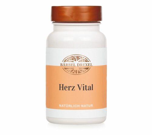 BÄRBEL DREXEL Herz Vital 180 Presslinge mit Magnesium, Vitamin B1 & Weißdorn