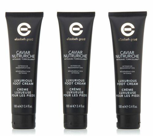 ELIZABETH GRANT Caviar Nutruriche Foot Cream 3x 100ml