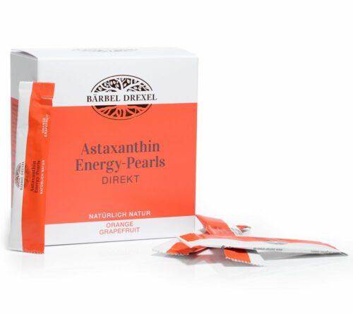 BÄRBEL DREXEL Astaxanthin Energy Pearls, 28 Sticks mit Vitamin C für 28 Tage