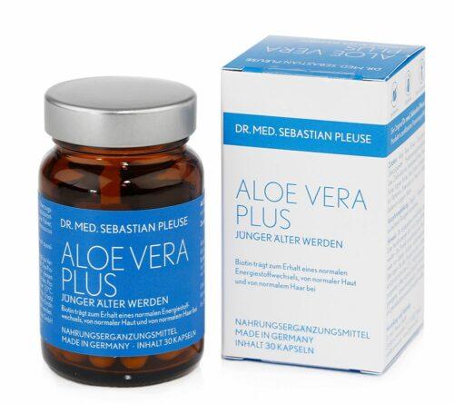 Dr. med. Sebastian Pleuse Aloe Vera Plus 30 Kapseln für 30 Tage