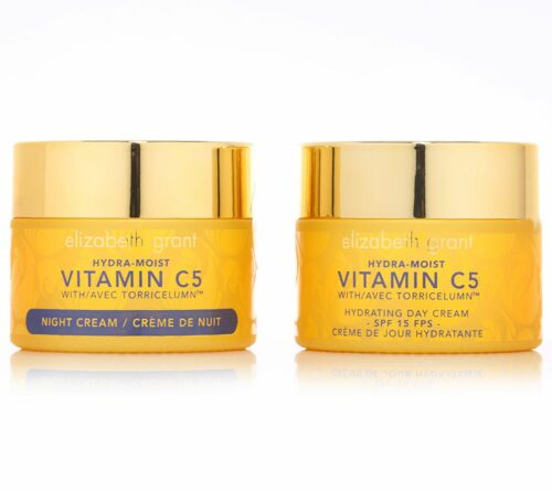 ELIZABETH GRANT Hydra Moist Vitamin C5 Day- & Night Cream 2x 100ml