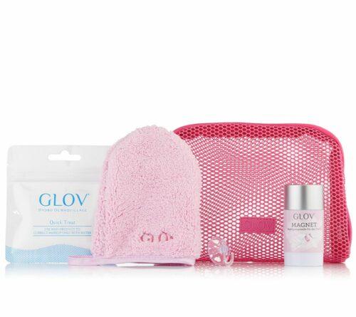 GLOV Reiseset alle Haut- typen mit Cleanser, Gesichtsreinigungs- tuch und Fingerling