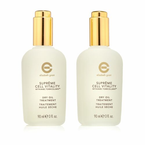 ELIZABETH GRANT Supreme Cell Vitality Dry Treatment Oil 2x 90ml