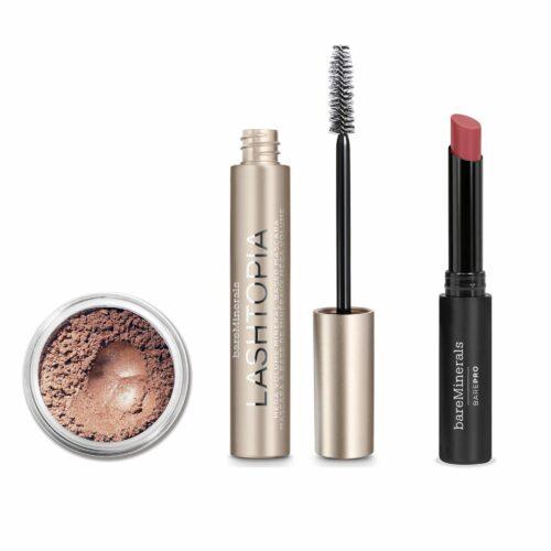 bareMinerals® Natural Beauty Lash Topia Mascara Eyeshadow BarePro Lipstick