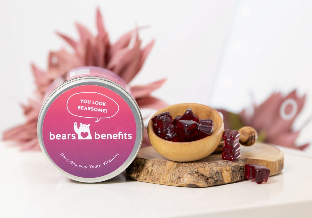 BEARS WITH BENEFITS YOUTH VITAMINS Kollagen & Hyaluron