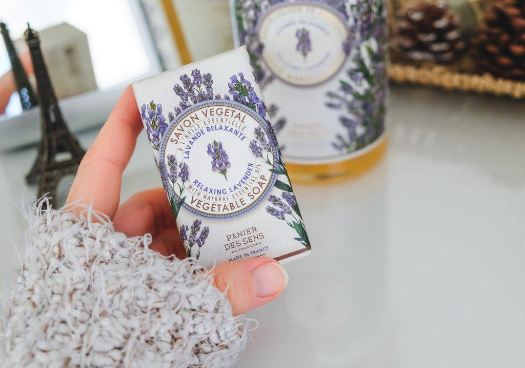 PANIER DES SENS Relaxing Lavendel Vegetable Soap