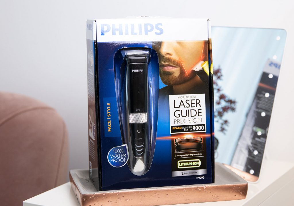 PHILIPS Laser Guide Precision Beard Trimmer