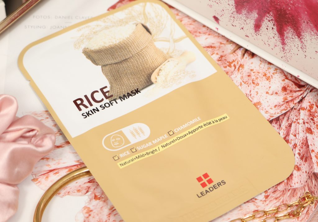 LEADERS Rice Skin Soft Mask