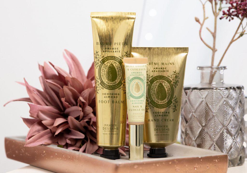 PANIER DES SENS Soothing Almond Skincare Trio