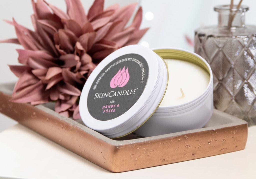 SKINCANDLES Kirschblüte-Kokos