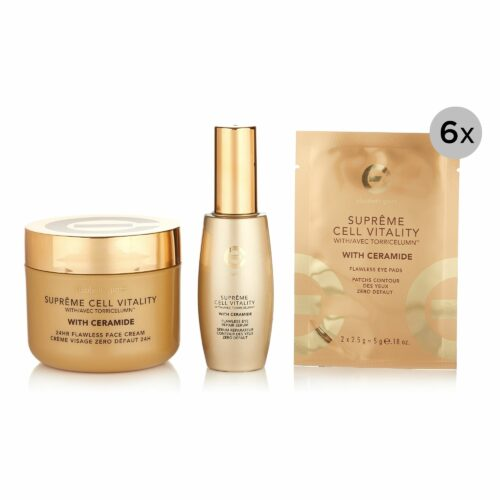 ELIZABETH GRANT Supreme & Ceramide 24h-Cream 200ml, Eyeserum 60ml & Eyepads 6x 2 Stück