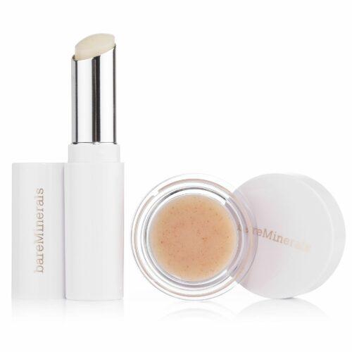 bareMinerals® Lip Treats für geschmeidige Lippen Lip Balm 2,6g & Lip Scrub 4,5g