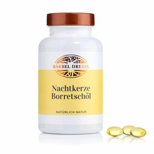 BÄRBEL DREXEL Nachtkerze-Borretsch- Öl für schöne Haut 180 Kapseln für 45 Tage