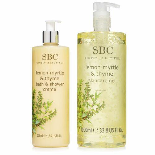 SBC Zitrus Myrte & Thymian Skincare Gel Dusch- & Badegel