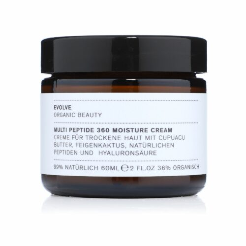 EVOLVE ORGANIC BEAUTY Multi Peptide 360 Moisture Cream Feuchtigkeitscreme 60ml