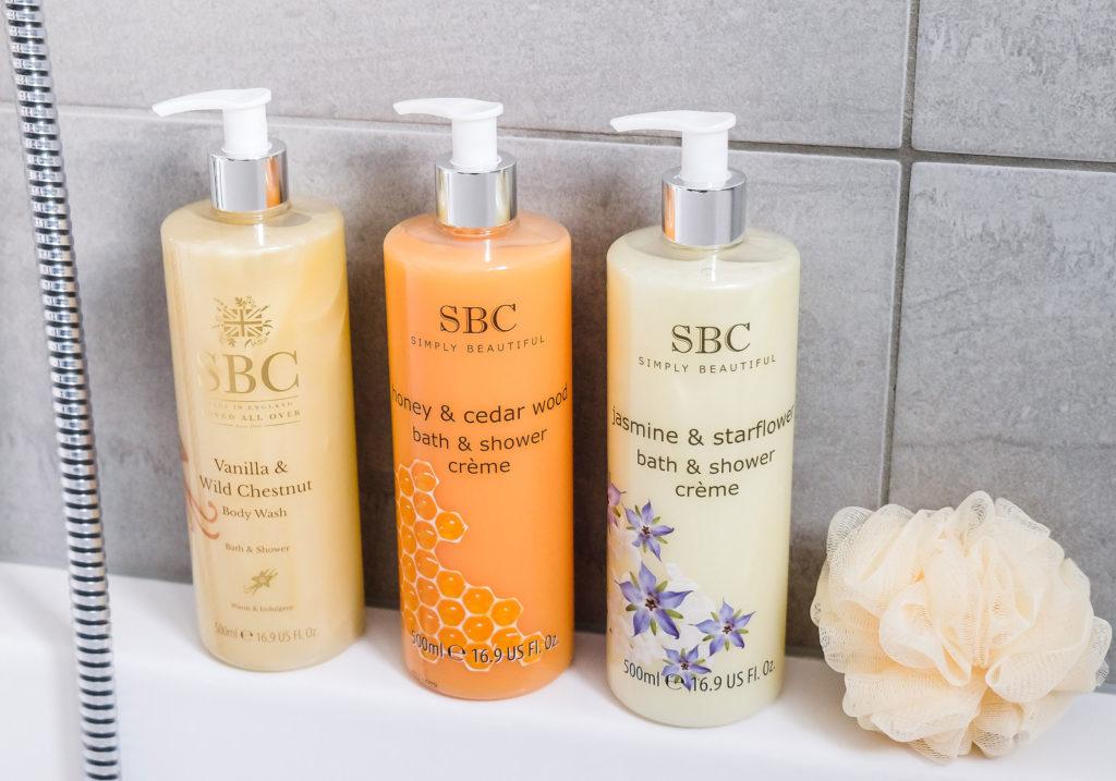 SBC Bath Shower Trio